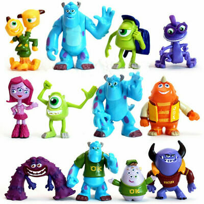 £12.49 • Buy Monsters University Mike Sully Monsters Inc Action Figure 12 PCS Kids Toy