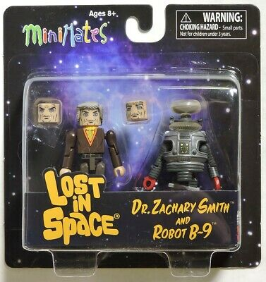 AU14.51 • Buy ESAR4607. Lost In Space DR. ZACHARY SMITH AND ROBOT B-9 Minimates DST (2013)