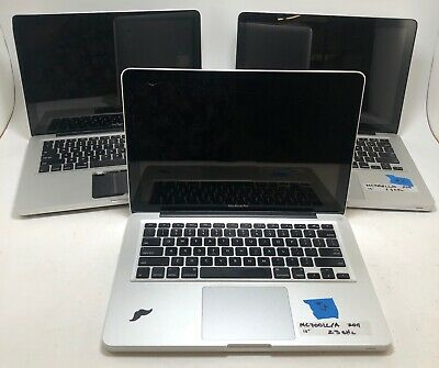 $ CDN336.43 • Buy Lot Of 3 - Apple 13  MacBook Pro Units 2.3GHz / 2.5GHz *AS-IS Untested* MV343