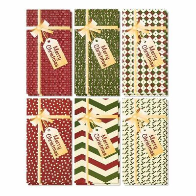 $10.99 • Buy 36 Christmas Greeting Card Money And Gift Card Holder W/Envelopes 3.6 X7.25