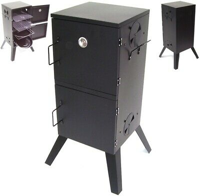 Bbq Smoker Charcoal Barbecue Grill 56513 Garden Cooker Patio Oven Roast • 97.98£