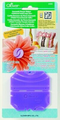 Kanzashi Gathered Petal Flower Maker - 75mm • 6.99£