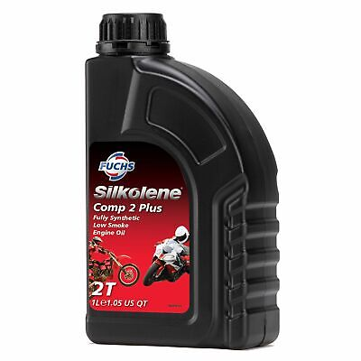 Silkolene Comp 2 Plus Synthetic 2 Stroke 2T Bike Oil Premix/Injector 1 Litre • 20.06£