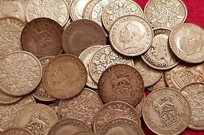 £3.99 • Buy 1911-1936 Lucky Silver Sixpences George V Choice Of Year