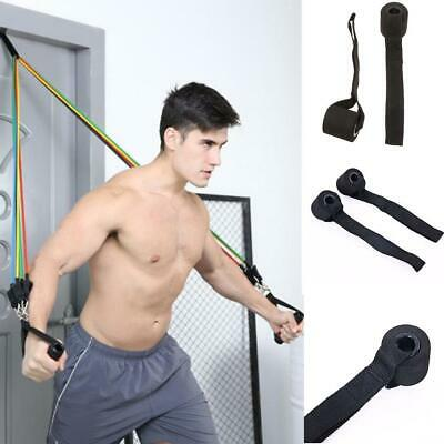 AU11.39 • Buy Home Fitness Resistance Bands Over Door Anchor Elastic Bands Accessories BLR 01