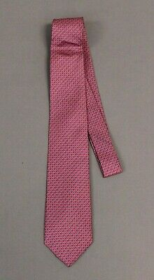 $19.99 • Buy T.M.Lewin Men's Silk Horseshoe Wide Tie Fuschia Blue SI1 NWT