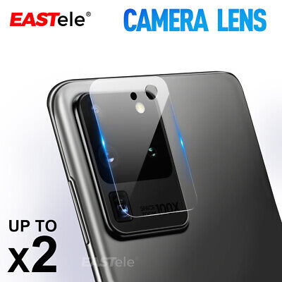 AU6.95 • Buy For Samsung Galaxy S20+ FE Note 20 Ultra Camera Lens Tempered Glass Protector