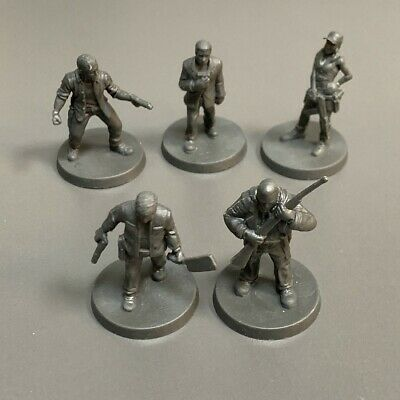 AU6.36 • Buy 5pcs Heroes For Miniatures Dungeons & Dragons D&D Board Game Figure