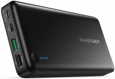 AU109.90 • Buy USB C Battery Pack RAVPower 20100mAh Portable Charger 3.0 Qualcomm Quick Charge