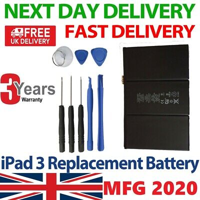 £15.45 • Buy For IPad 3 / 4 Battery  New  Replacement With 100% Genuine Capacity 11560