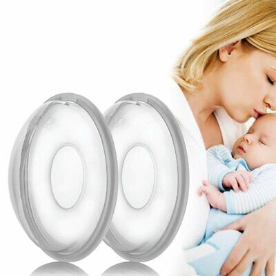 2PCS Milk Saver Breast Shells Nursing Cups Pads Washable Breastmilk Collector · • 4.33£