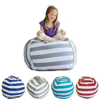 EXTRA LARGE Stuffed Animal Toy Storage Bean Bag Bean Cover Soft Seat L • 6.09£