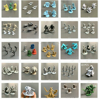 AU6.36 • Buy Lot Dungeons & Dragons DND Miniatures Board Game Figure Set