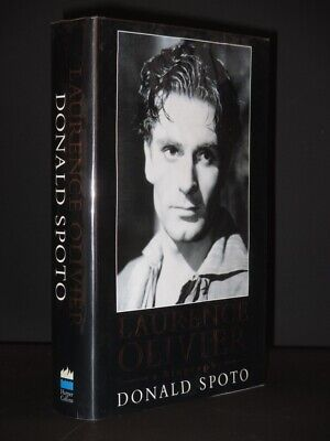 Laurence Olivier:A Biography *SIGNED* 1991 1st Edition DONALD SPOTO Agent's Copy • 55£