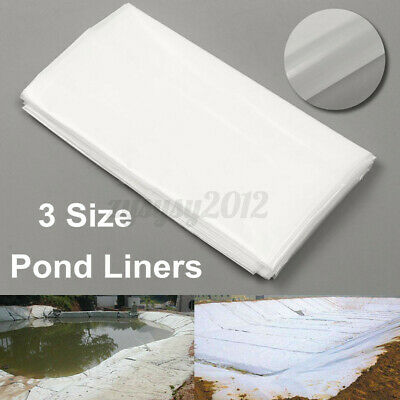 3.5m White Fish Pond Liner Garden Pool HDPE Membrane Reinforced Landscaping GB • 13.98£