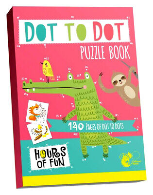 BIG DOT To DOT ACTIVITY BOOK BORED KIDS CHILDREN HOME OFF SCHOOL SELF ISOLATE • 3.75£