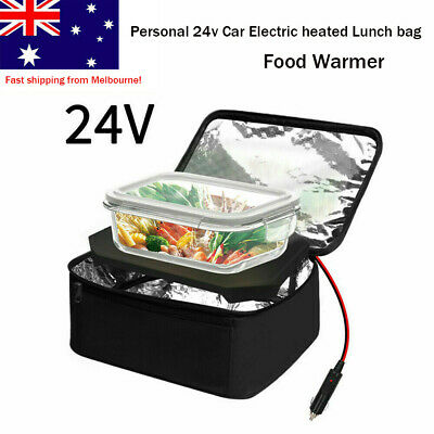 AU36.95 • Buy Personal Portable Mini Electric Oven Lunch Bento Box 24v Food Warmer For Car