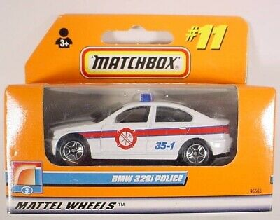 $4.98 • Buy MATCHBOX # 11 WHITE BMW 328i POLICE CAR MB11-H2