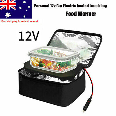 AU36.95 • Buy Portable Electric Heated Heating Lunch Box 12V Car Mini Microwave Oven Lunch Bag