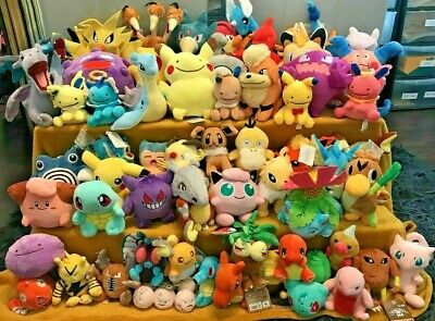 Pokemon Plush Teddy Collection - Choice Of 68 Characters - UK SELLER - BRAND NEW • 7.50£