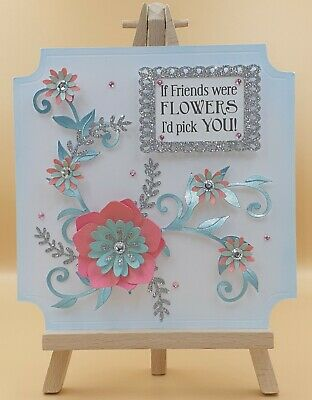 Luxury Handmade 3D Friend Birthday Card Topper By High 5 Cards • 1.99£