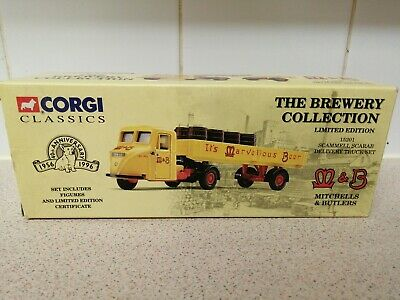 £9.99 • Buy Corgi 15201 Scammell Scarab Delivery Truck Set Mitchell's & Butlers