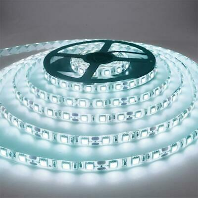 $4.72 • Buy 5M 300 LED Strip Light Non Waterproof DC12V Ribbon Tape Brighter SMD3528 Cold Wh