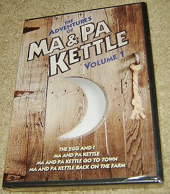 $22.99 • Buy The Adventures Of Ma And Pa Kettle - Volume 1 (DVD, 2011, 2-Disc Set) NEW,SEALED