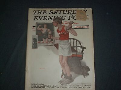 $ CDN75.19 • Buy 1922 Apr 29 The Saturday Evening Post Magazine - Norman Rockwell Cover- Sp 2471q
