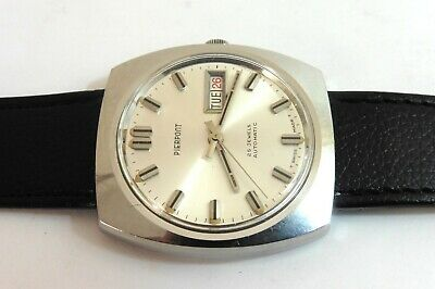 1920s LARGE GENTS RETRO STYLE PIERPOINT 25 JEWEL AUTOMATIC EXCELLENT CONDITION • 40£