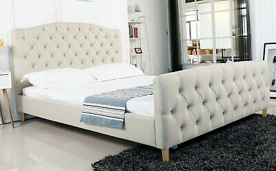 AU269 • Buy New Queen Size Fabric Bed Frame