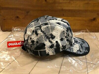 $ CDN459.04 • Buy Supreme NYC X Rammellzee Camp Cap Hat Black White - New With Tags