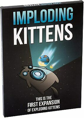 AU24.99 • Buy Imploding Kittens: First Expansion Of Exploding Kittens Family Fun Card Game