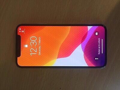 AU575 • Buy IPhone X- 256gb - Silver-Apple. Good Condition