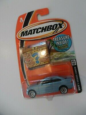 $17.99 • Buy Matchbox #63 BMW 3 Series Coupe BLUE - NEW - Treasure
