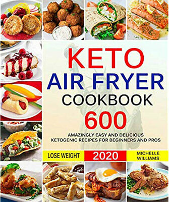 $1.34 • Buy Keto Air Fryer Cookbook -600 Amazingly Easy [PDFEb00k]