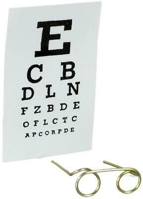 Dolls House Eye Test Kit Chart And Spectacles Clinic Opticians Accessory 1:12 • 1.50£