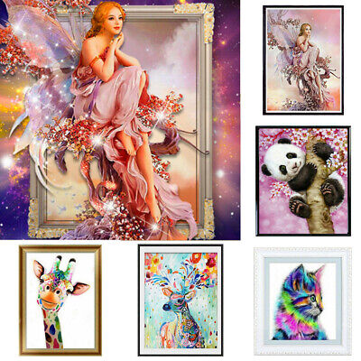 £3.99 • Buy 5D Diamond Painting Animal Embroidery Cross Stitch Pictures Art Craft Kit Decor