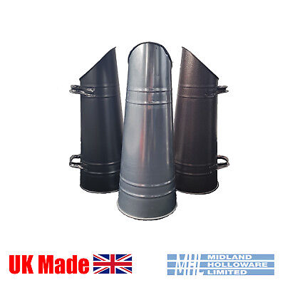Anthracite Coal Hod/Scuttle/Pail Tapered Heavy Duty Coal Storage Various Colours • 19.50£