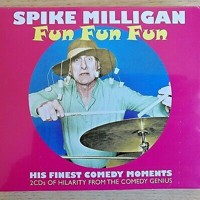2CD NEW SEALED - SPIKE MILLIGAN - Fun Fun Fun - Comedy Goons Music 2x CD Album • 2.99£