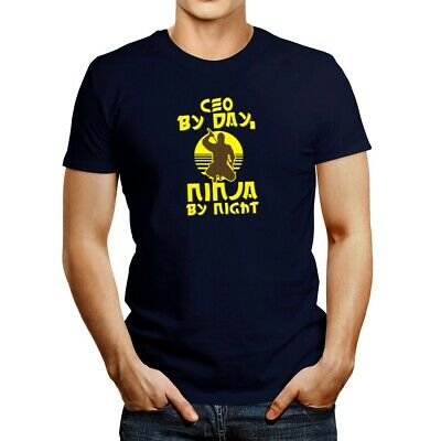 $21.99 • Buy Ceo By Day, Ninja By Night T-shirt