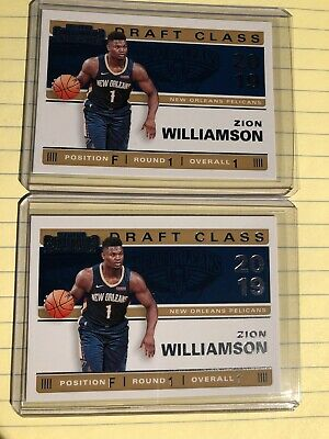 $4.50 • Buy Zion Williamson - 2019/20 Panini Contenders Draft Class 2 Card Insert Lot