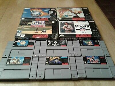 $ CDN15 • Buy Lot SNES Games, 6 Cart Only And 4 Boxed No Manuals All Tested Works Great
