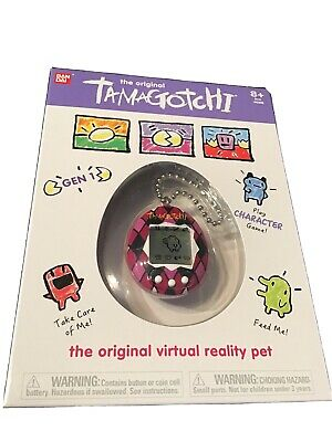 AU49.95 • Buy Genuine Bandai Tamagotchi Gen 1 - Majestic Argyle Virtual Reality Pet 2020