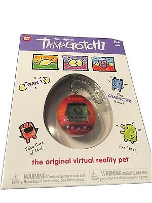 AU49.95 • Buy Genuine Bandai Tamagotchi Gen 1 -Sunset Orange/Red Virtual Reality Pet 2020