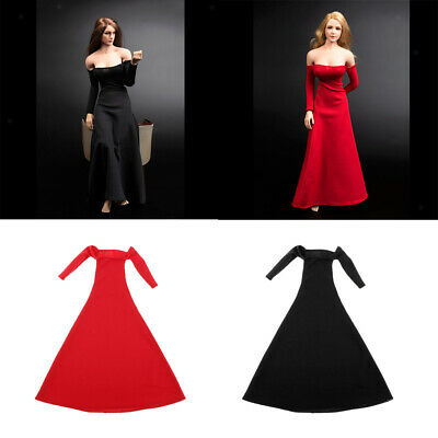 $50.19 • Buy 2x 1/6 Evening Dress For 12inch Enterbay Body Dress Up Clothing DIY Accs