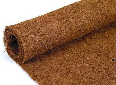 £33.97 • Buy Hanging Basket Wall Trough Coco Liner On Roll Co-co Fibre Box Liner 7m X 0.75m