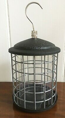 Metal Wild Bird Seed Feeder Squirrel Proof Blocking Protection Guard Steel Cage • 9.99£