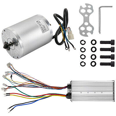 $209.99 • Buy 72V 3000W BLDC Motor Kit With Brushless Controller Electric Bicycle Scooter