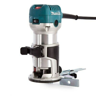 Makita RT0700CX4 Router / Laminate Trimmer With Trimmer Guide 240V • 123£